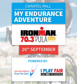 #MyEnduranceAdventure for Ironman 70.3 Croatia